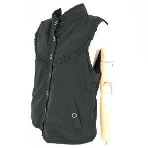 dickies ruffled vest fleece lined Women Slim Fit